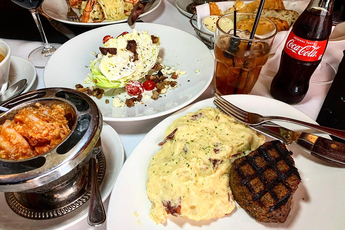 St. Elmo Steak House Devour Huse Culinary Menu Items